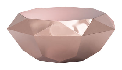 Galena Coffee Table Rose Gold