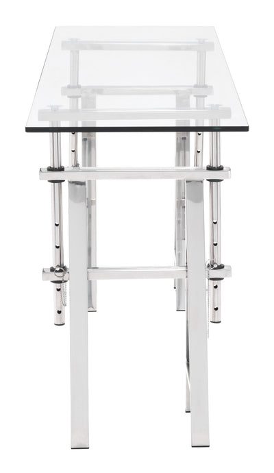 Loyalty Console Table Chrome