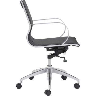 Graham Low Back Office Chair Black