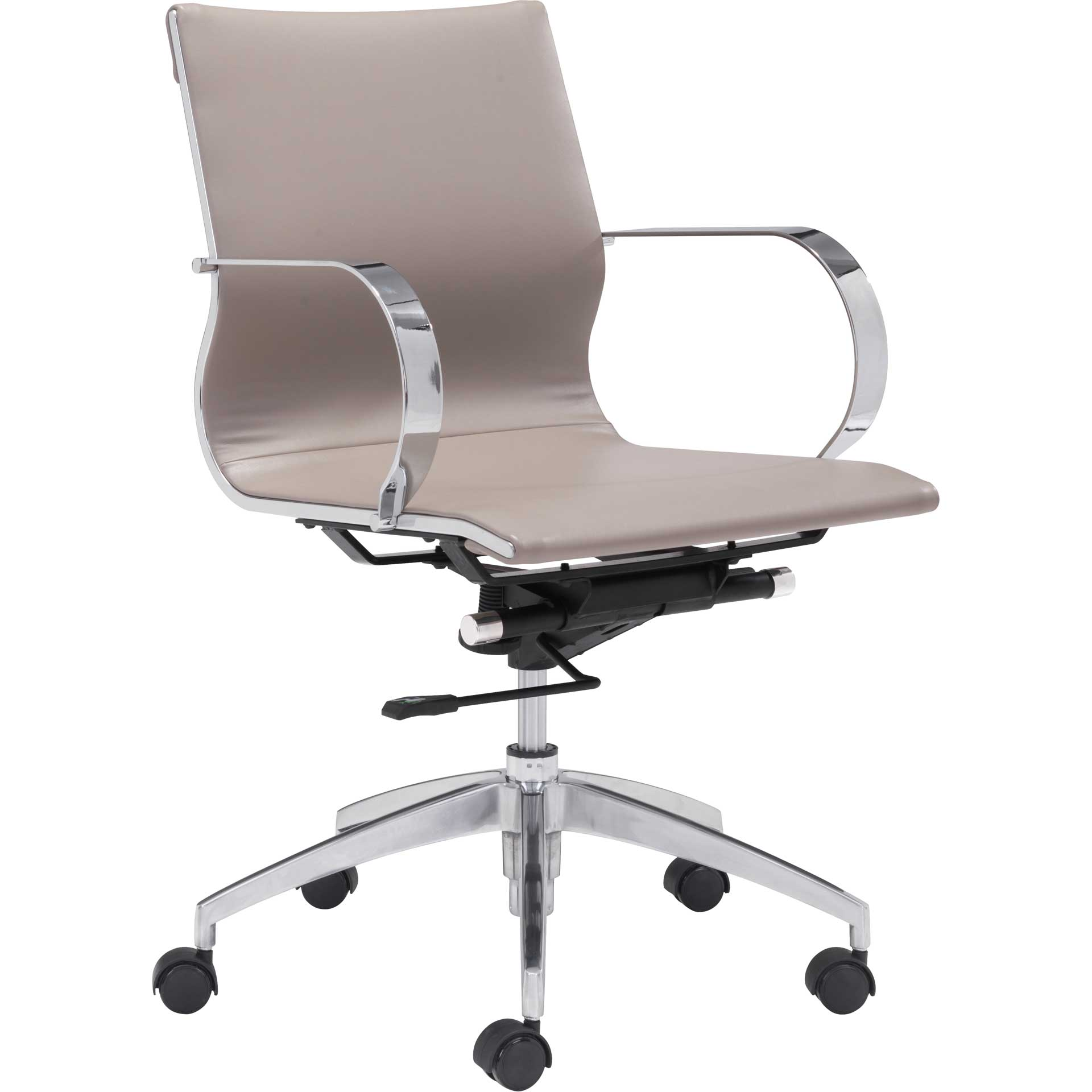 Graham Low Back Office Chair Taupe