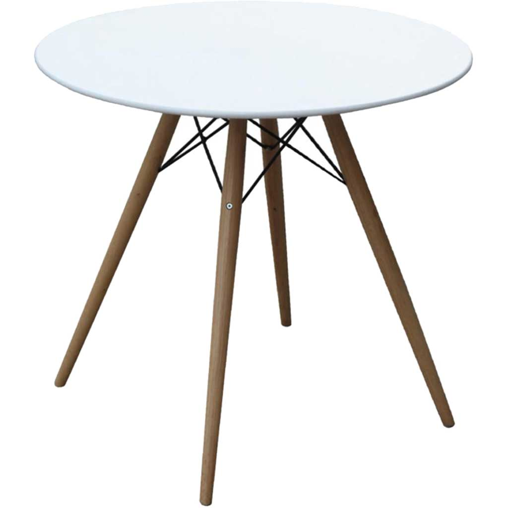 Warren Fiberglass Top Dining Table White