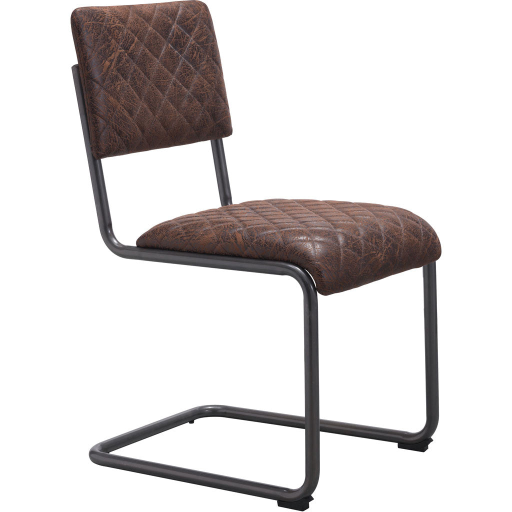 Fermo Side Chair Vintage Brown (Set of 2)