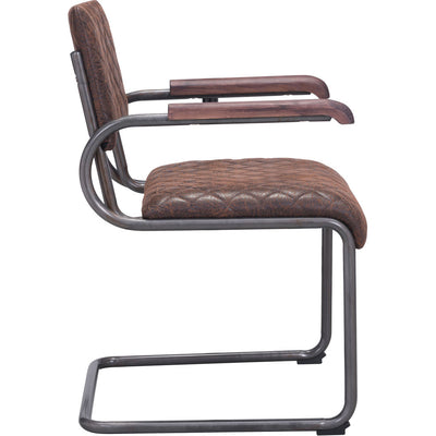 Fermo Arm Chair Vintage Brown (Set of 2)