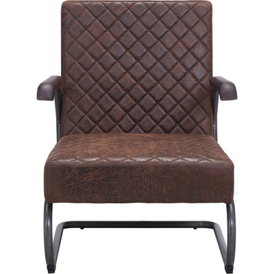 Fermo Lounge Chair Vintage Brown