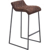 Fermo Barstool Vintage Brown (Set of 2)
