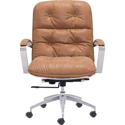 Allen Office Chair Vintage Coffee