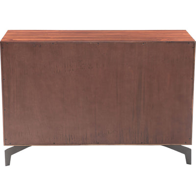 Paige Console Table Chestnut