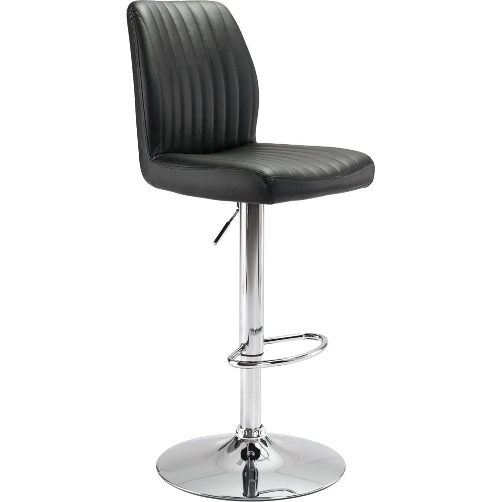 William Bar Chair Black