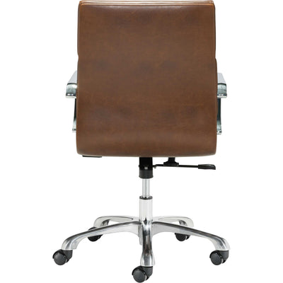 Italy Office Chair Vintage Brown