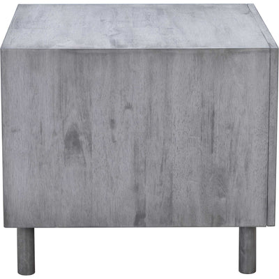 Regents End Table Old Gray