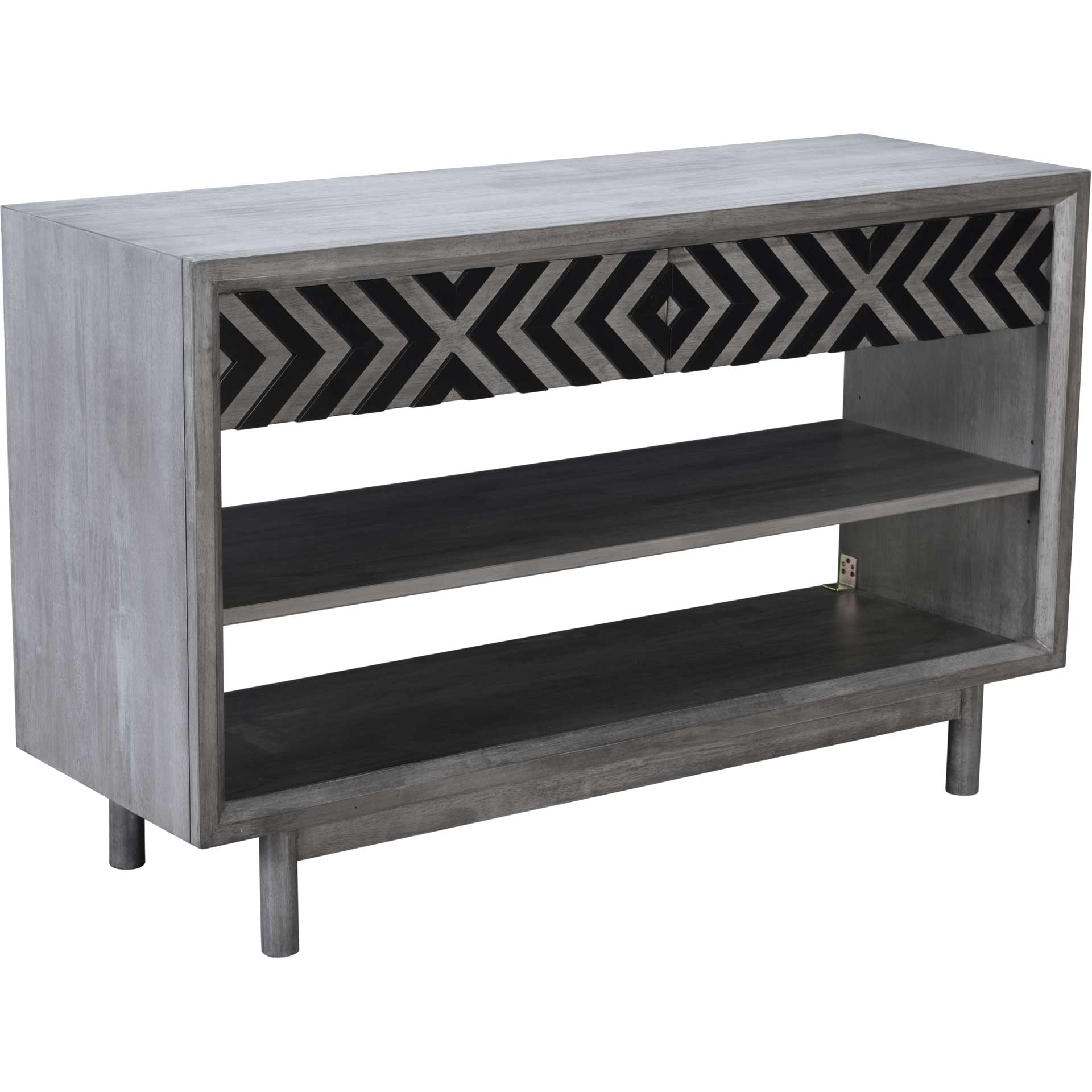 Regents Console Table Old Gray