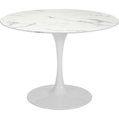 Dawson Dining Table Stone/White