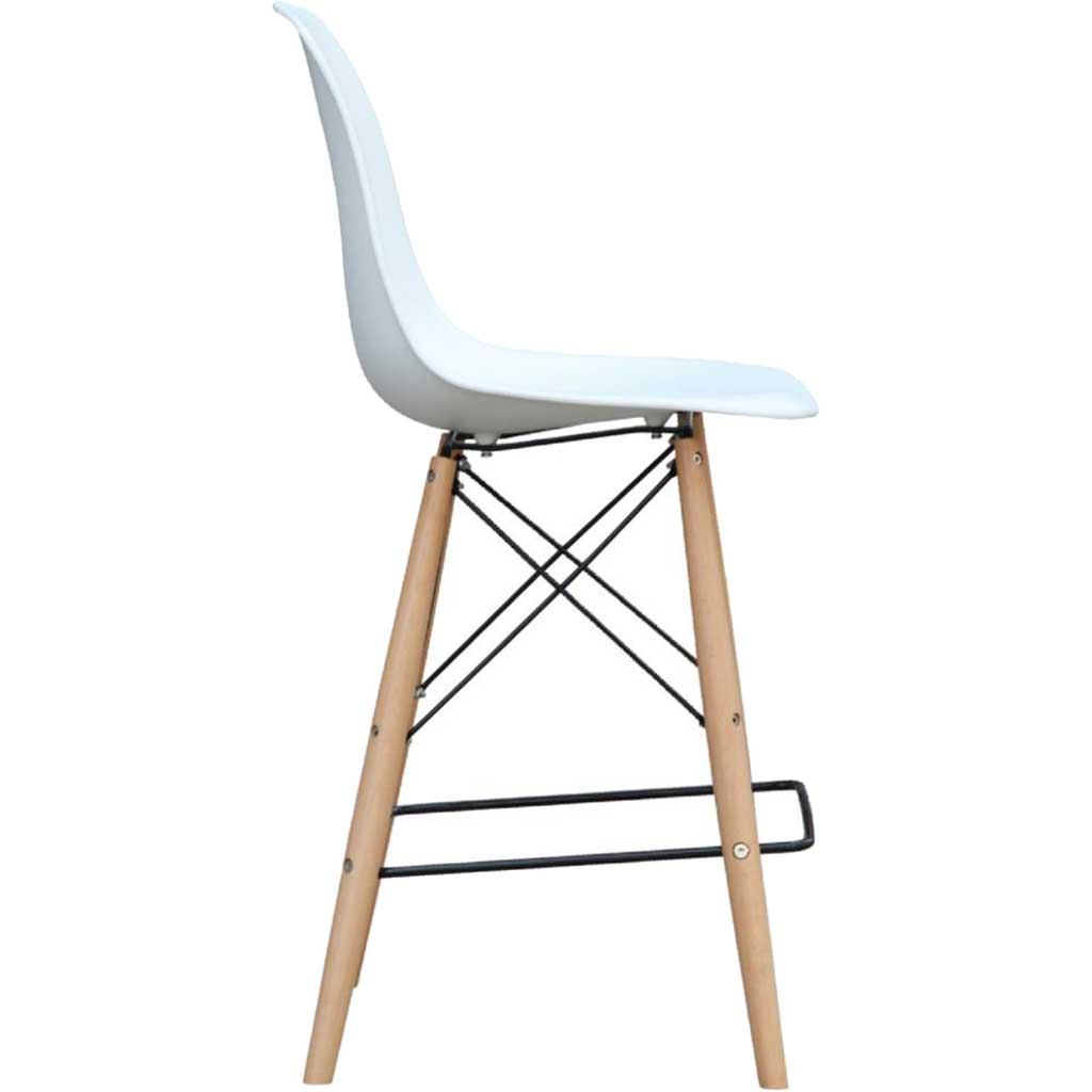 Warren Bar Chair White