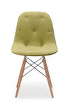 Preston Chair Green Velour
