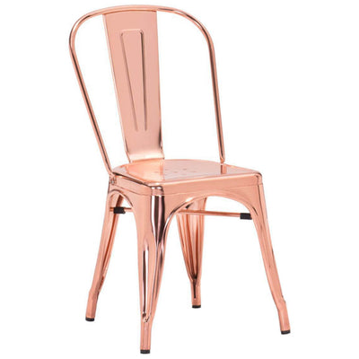 Eastham Chair Rose Gold (Set of 2)