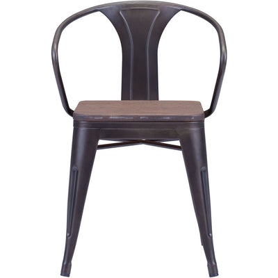 Hampden Chair Rustic Wood (Set of 2)