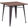 Tauton Dining Table Rustic Wood