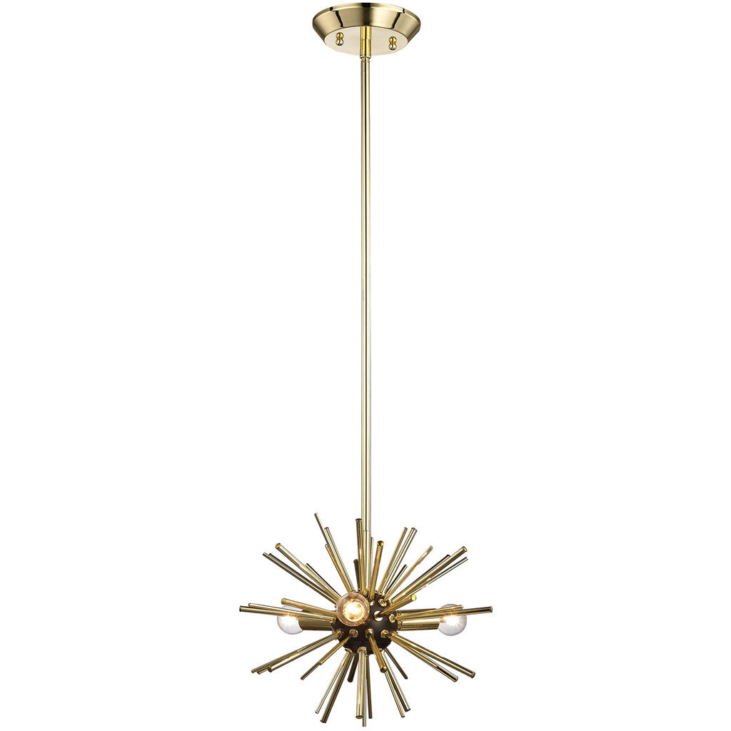 Starlight 3-Light Pendant Gold
