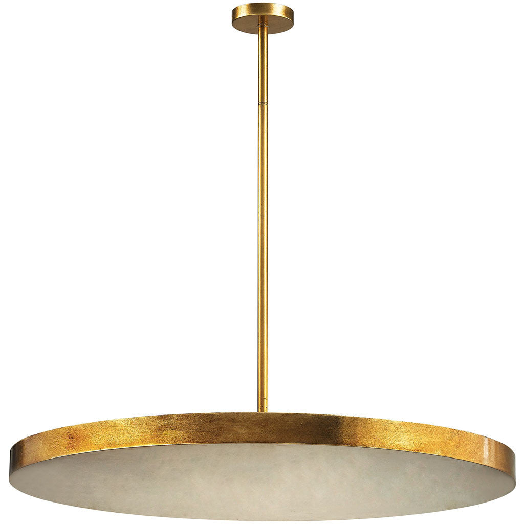 Lane 4-Light Disc Pendant Gold Leaf