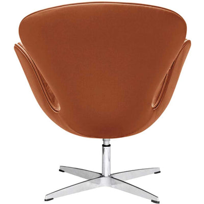 Swan Chair Leather Light Brown