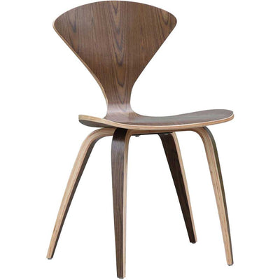 Wooden Side Chair Walnut