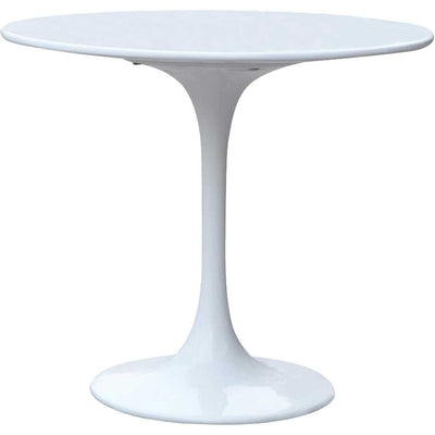 Forum End Side Table White
