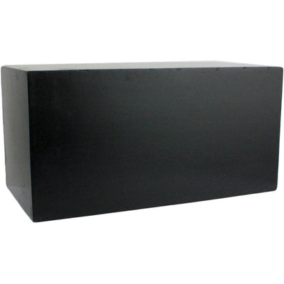 Plane Small Rectangle Wall Cube Black