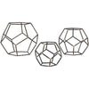 Geometric Orbs (Set of 3)