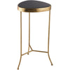 Black Onyx Accent Table