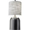 Dinara Table Lamp Black Nickel