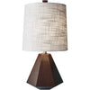 Granaty Table Lamp Walnut