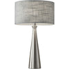 Luna Table Lamp Steel