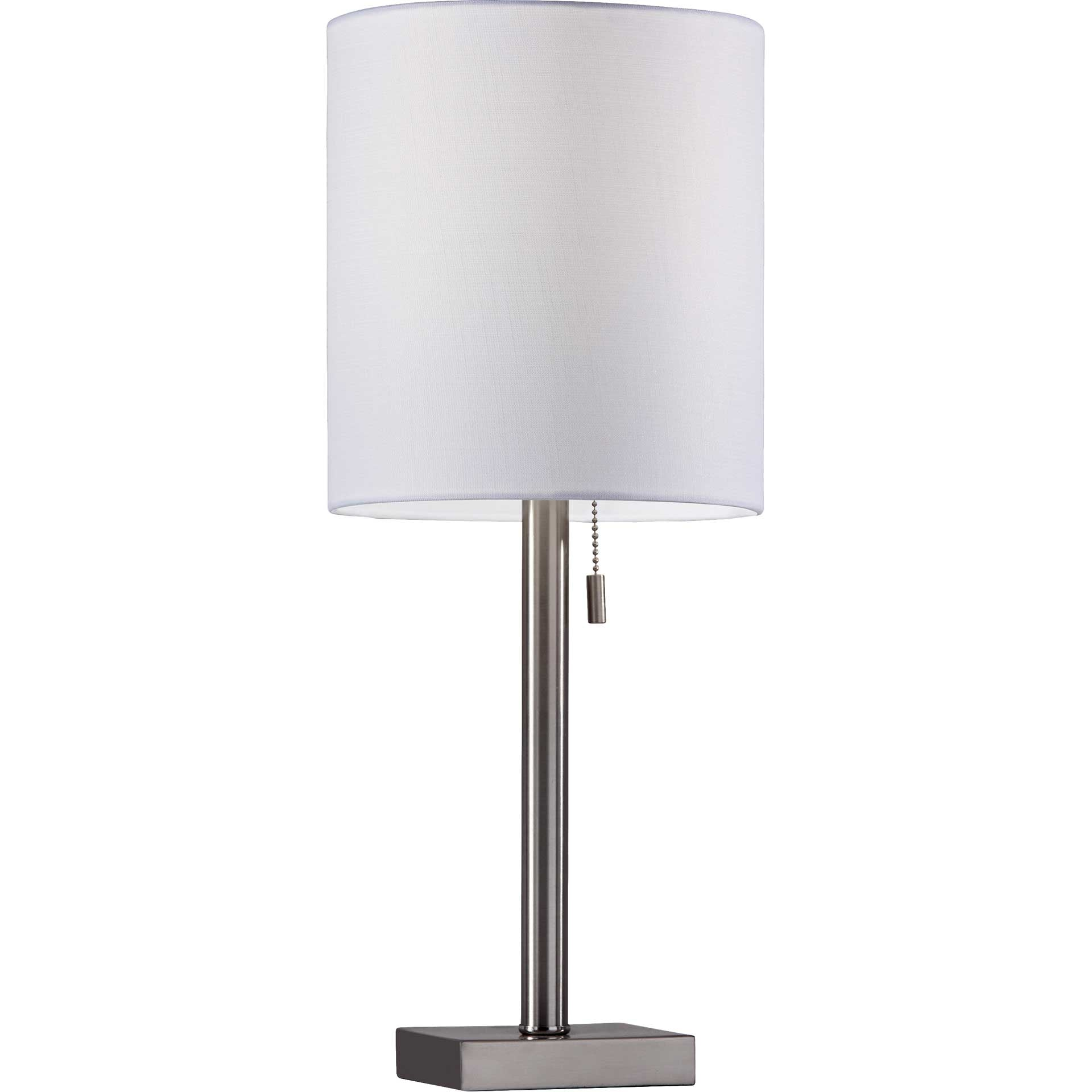 Lille Table Lamp Brushed Steel