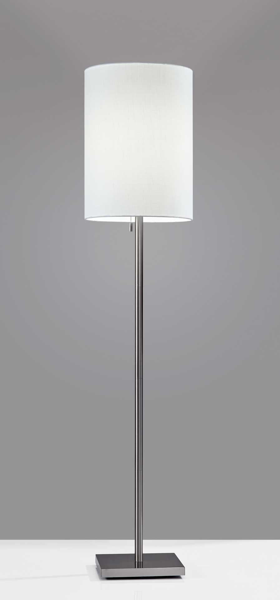 Lille Floor Lamp Brushed Steel