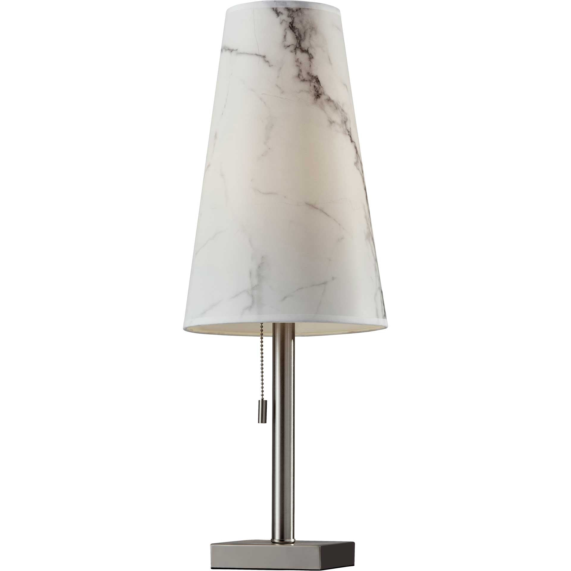 Avondale Table Lamp Brushed Steel