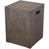 Anthropology Square Concrete Stool