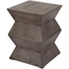 Anthropology Lattice Cement Stool