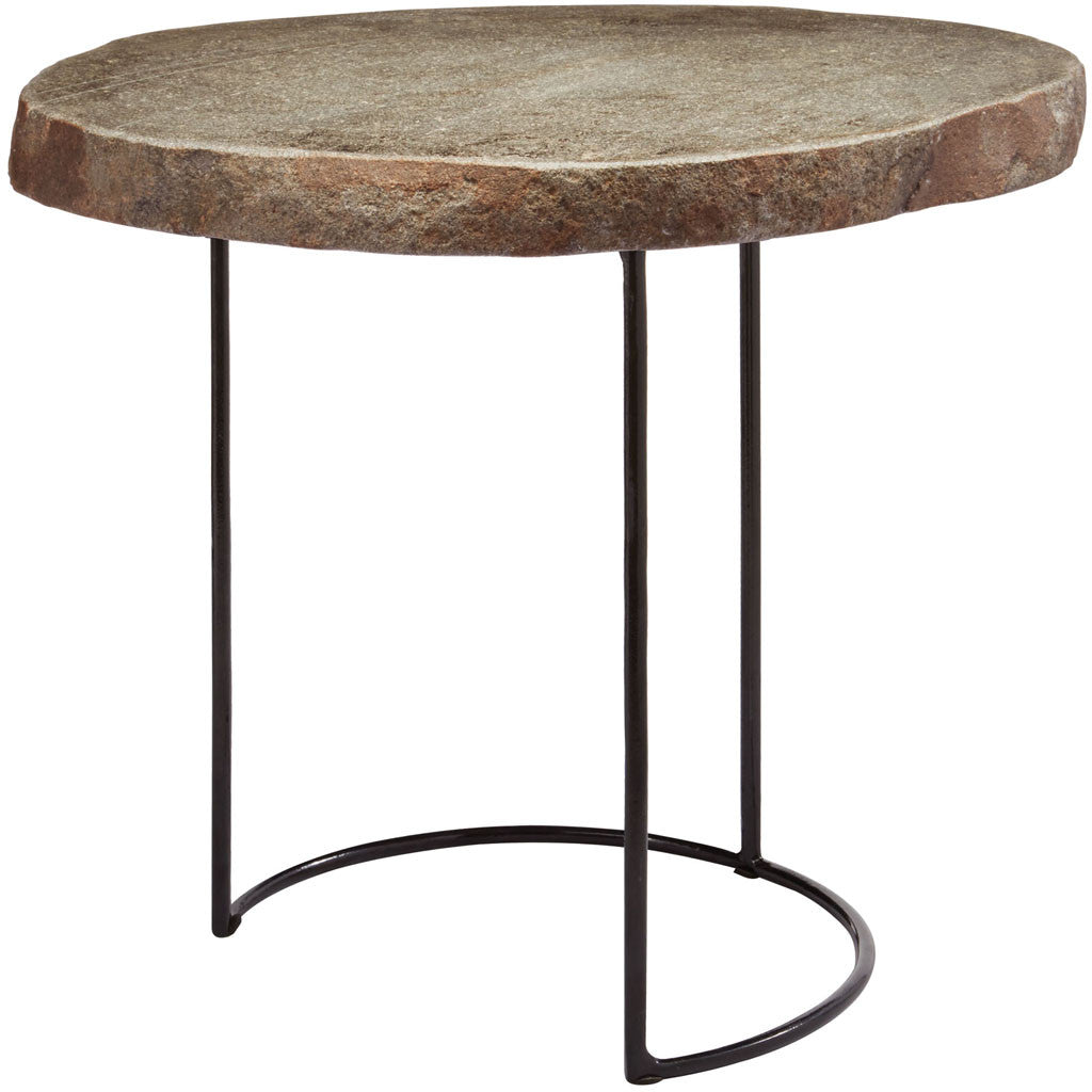 Boise Stone Slab/Wire Frame Table Short