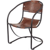 Ryan Round Back Leather Lounger