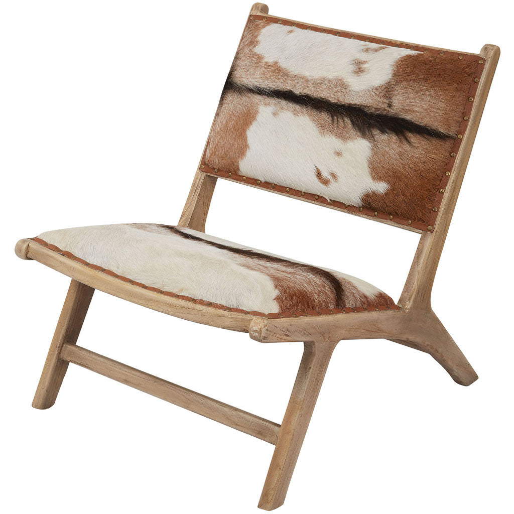 Ryan Goatskin Leather Lounger
