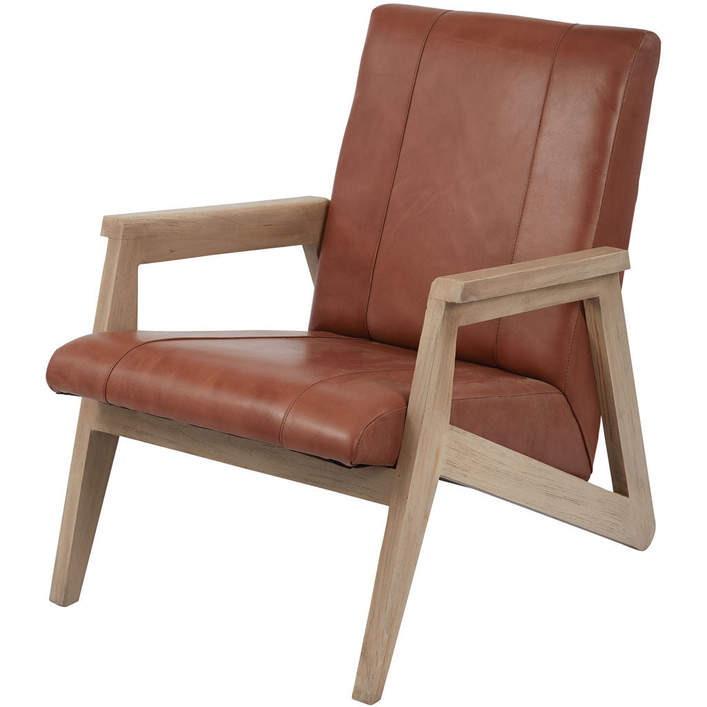 Ryan Angle Modern Lounge Chair