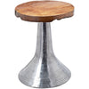 Hem Decorative Teak Table Silver