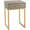 Sheldon Side Table Gray