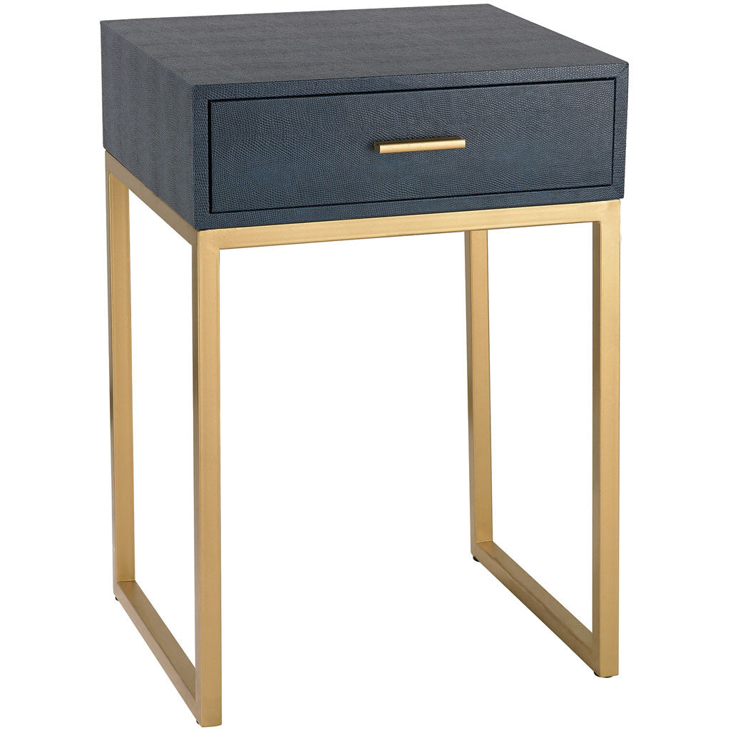 Sheldon Side Table Navy