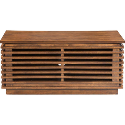 Linear Small Console Walnut