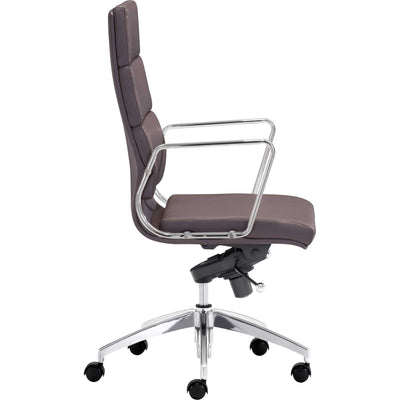 Enterprise High Back Office Chair Espresso