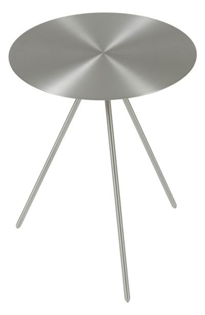 Fate Side Table Brushed Nickel
