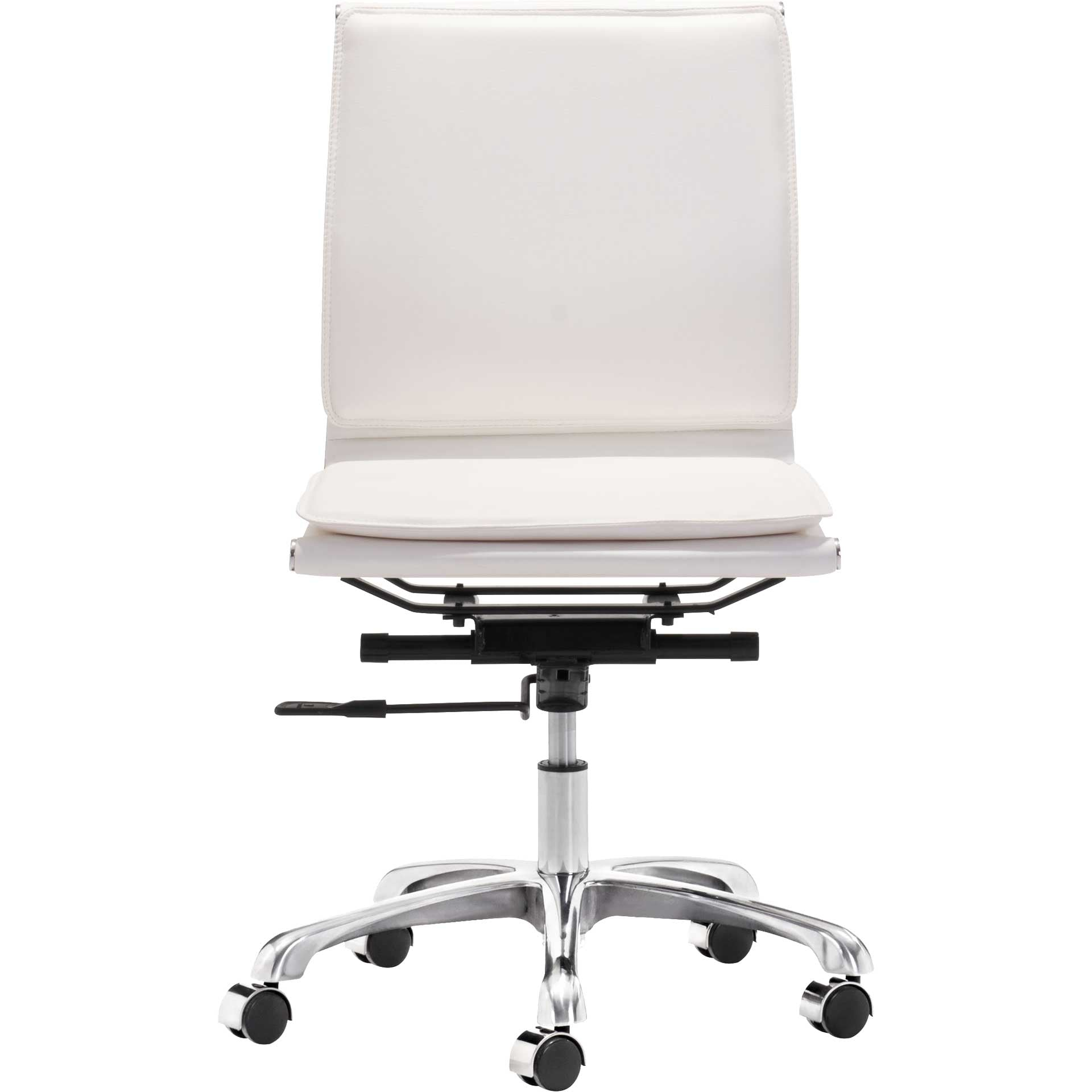Lincoln Armless Office Chair White Froy Com