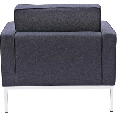 Belmont Arm Chair in Wool Gray