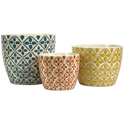 Kingman Bright Planters (Set of 3)